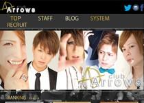 club Arrowsホームページ