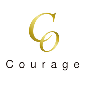 Courage -next-ロゴ