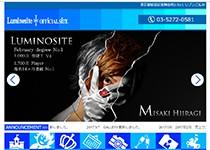 Luminositeホームページ