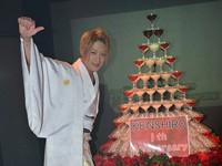 豪華なタワーで盛大に!E-GENERATION 霞 拳志郎1周年イベント!