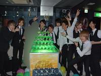 最高のプレゼントに最高のタワー!GOLDEN CHIC 久我山 翔 バースデーイベント!