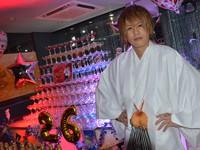 ナイアガラタワーで派手にお祝い! GOLDEN CHIC 吉波 唯也 常務取締役 バースデーイベント!