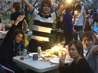 花盛りのイケメンにホストの手料理★Arrowsお花見&料理対決イベント!!