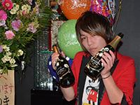 豪華絢爛なシャンパンタワー!E-GENERATION刹那聖誕祭!