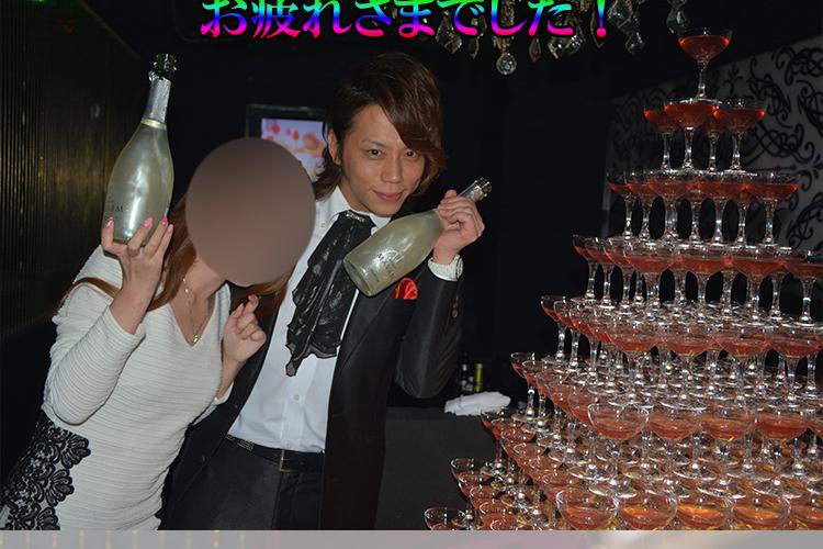ホスト道よ、永遠に…!Club GLOW統堂 翔也主任ラストイベント!8
