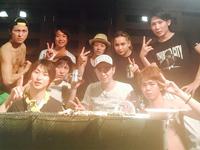 E-GENERATIONの夏休み in 矢谷渓谷