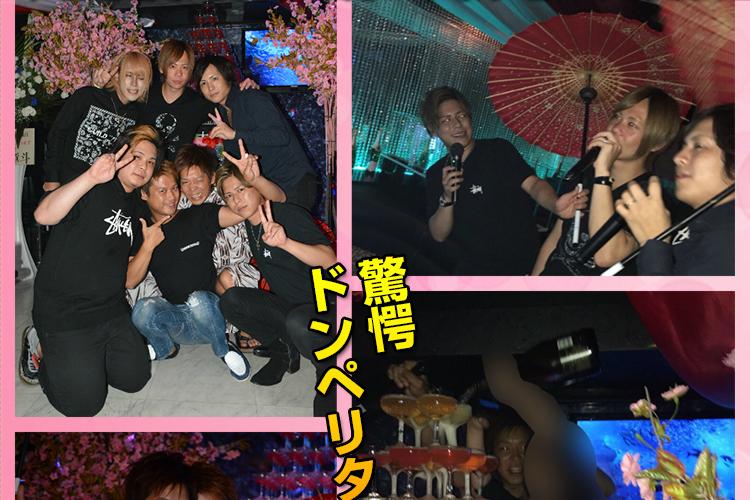 ラストはドンペリで特大タワー!club Arrows 山田 太郎 主任 バースデーイベント!4