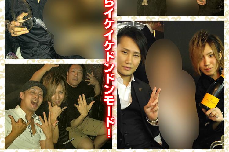 2部のアイドルが狂喜乱舞!Club GLOW篠崎 裕馬バースデーイベント!3