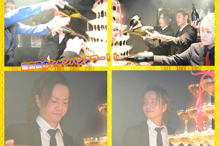 輝かしいタワーと花々に囲まれて…E-GENERATION安達 未頼代表取締役バースデーイベント!6