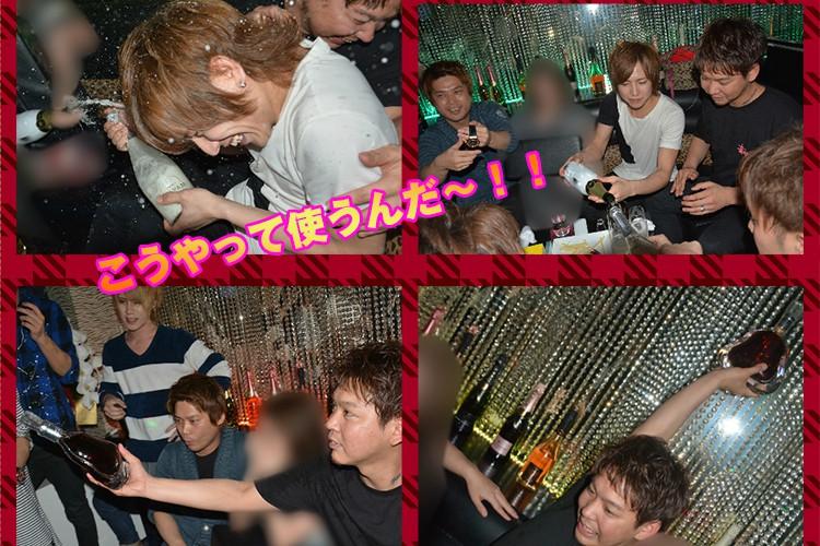 とどめはリシャールで!club Arrows山田太郎 部長昇格祭!5